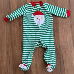 Santa Footie Pajamas - 6 months